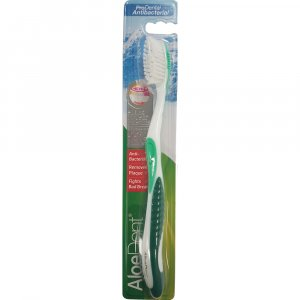 Aloe Dent ProDental Antibacterial Toothbrush Green