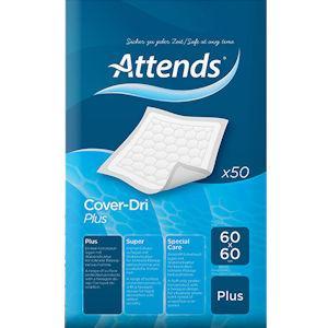 Attends Cover Dri 60 X 60 Super Pack of 50