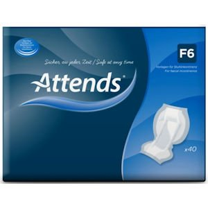 Attends Feacal Pads F6 Pack of 40