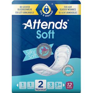 Attends Soft 2 Normal Pack of 12