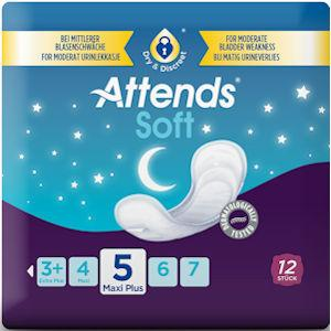 Attends Soft 5 Maxi Plus Pack of 12