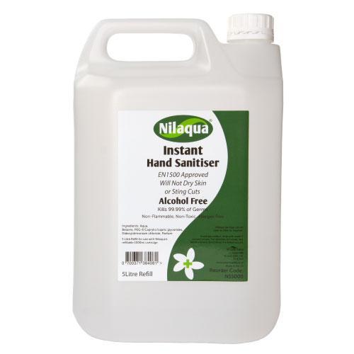 Nilaqua Instant Hand Sanitiser Refill 5 Litre