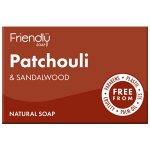 Friendly Soap Patchouli & Sandalwood Soap 95g