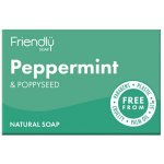 Friendly Soap Peppermint & Poppy Seed Soap 95g
