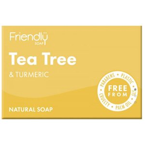 Friendly Soap Tea Tree & Turmeric Soap 95g