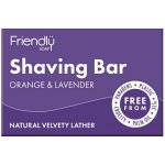 Friendly Soap Shaving Soap Orange & Lavender 95g