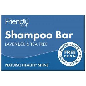 Friendly Soap Lavender & Tea Tree Shampoo Bar 95g