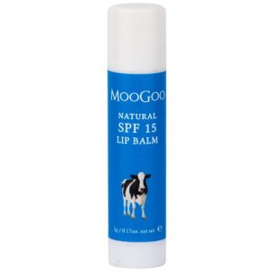 MooGoo Natural SPF15 Lip Balm 5g