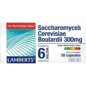 Lamberts Saccharomyces Cerevisiae Boulardii Capsules Pack of 30