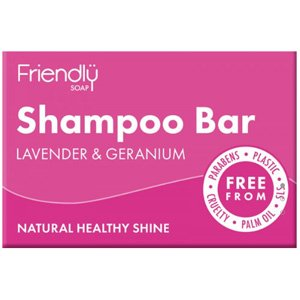 Friendly Soap Lavender & Geranium Shampoo Bar 95g
