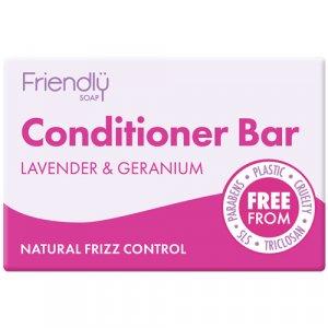 Friendly Soap Lavender & Geranium Conditioner Bar 95g