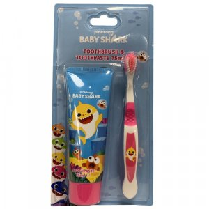 Pinkfong Baby Shark Toothbrush & Toothpaste 75ml