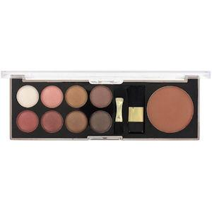 Sunkissed Eye Palette & Bronzer Smokey Eyes Kit