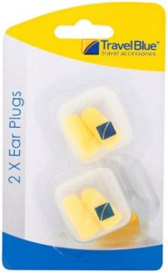 Travel Blue Ear Plugs