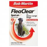 Bob Martin FleaClear Spot On for Extra Large Dogs Over 40kg Pack of 3