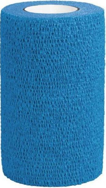 3M Vetrap Equine Cohesive Bandage Blue 10cm