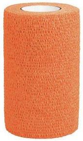 3M Vetrap Equine Cohesive Bandage Orange 10cm