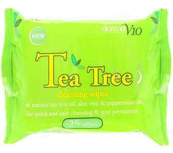 Tea Tree Cleansing Wipes Pack of 25