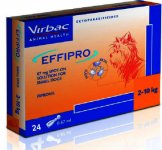 Effipro Spot On Small Dog 2 - 10kg Pack of 24