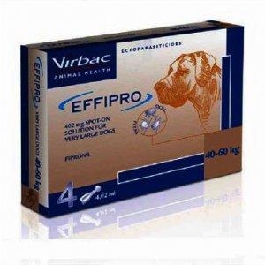 Effipro Spot On XL Dog 40 - 60kg Pack of 4