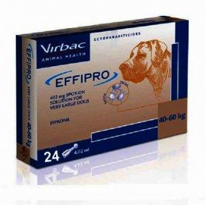 Effipro Spot On XL Dog 40 - 60kg Pack of 24