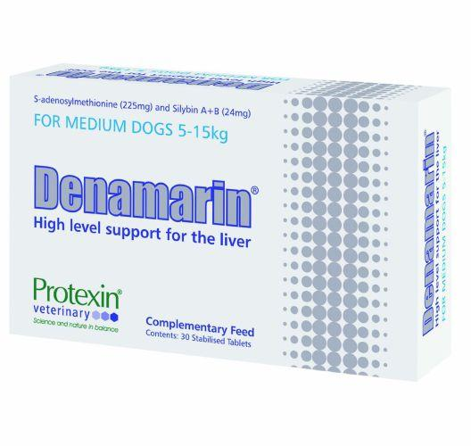 Denamarin Tablets for Medium Dogs 5 - 15kg 225mg Pack of 30