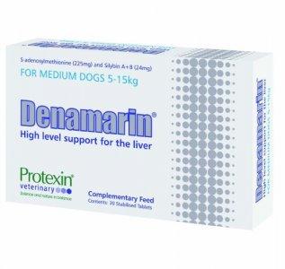 Denamarin Tablets for Medium Dogs 5 - 15kg 225mg Pack of 30