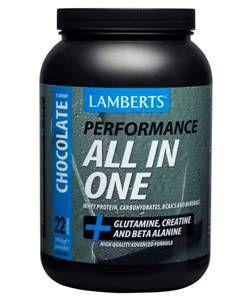 Lamberts All-in-One Chocolate Flavour Sports Shake 1.45kg