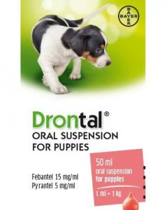 Drontal Puppy Oral Suspension 50ml