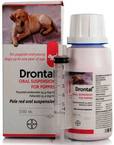 Drontal Puppy Oral Suspension 100ml