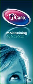 iCare Moistursing Eye Drops 10ml