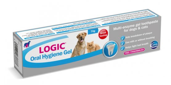 Logic Oral Hygiene Gel for Dogs & Cats 70g