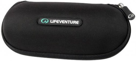 Lifeventure Sunglasses Bullet Case Black