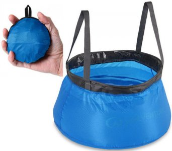 Lifeventure Collapsible 10 Litre Bowl Ultralight