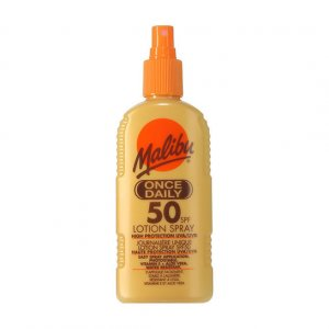 Malibu Once Daily Lotion SPF50 200ml