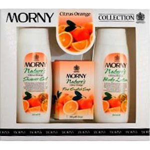 Morny Nature's Orange 3 Piece Gift Set