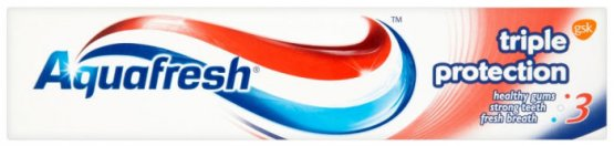 Aquafresh Triple Protection Tube Toothpaste 100ml