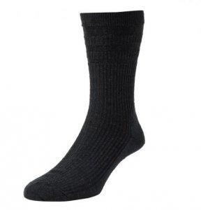 Solesee Softop Diabetic Socks Black One Pair Size 6 - 11