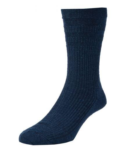 Solesee Softop Diabetic Socks Navy Blue One Pair Size 11 - 13