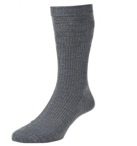 Solesee Softop Diabetic Socks Mid Grey One Pair Size 11 - 13