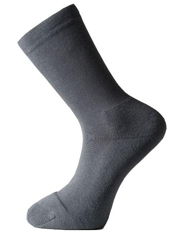 Solesee Toe Tec Diabetic Socks Grey One Pair Size 3 - 5