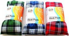 Sure Thermal Tartan Design Heat Pack