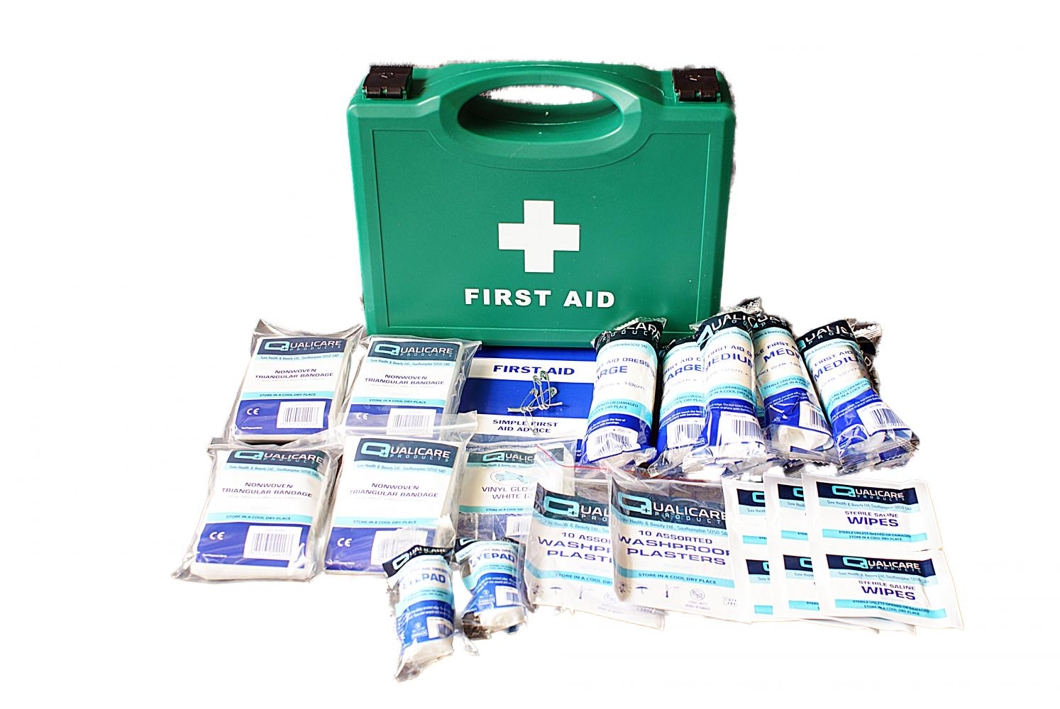 Qualicare First Aid Kit for 1 - 10 People