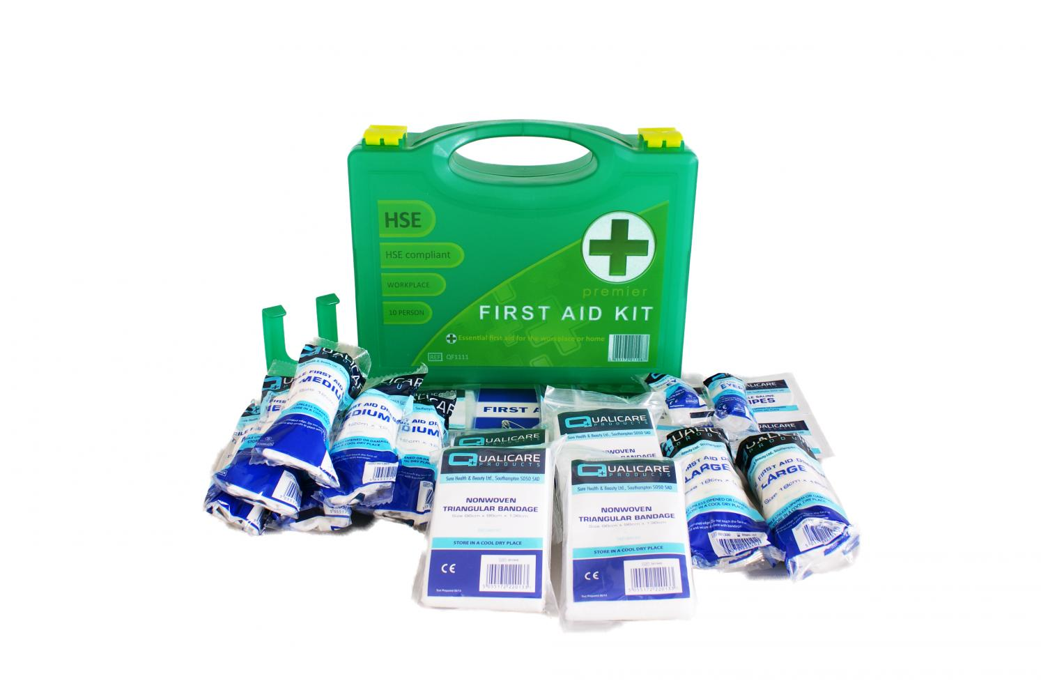Qualicare Premium First Aid Kit for 1 - 10 People
