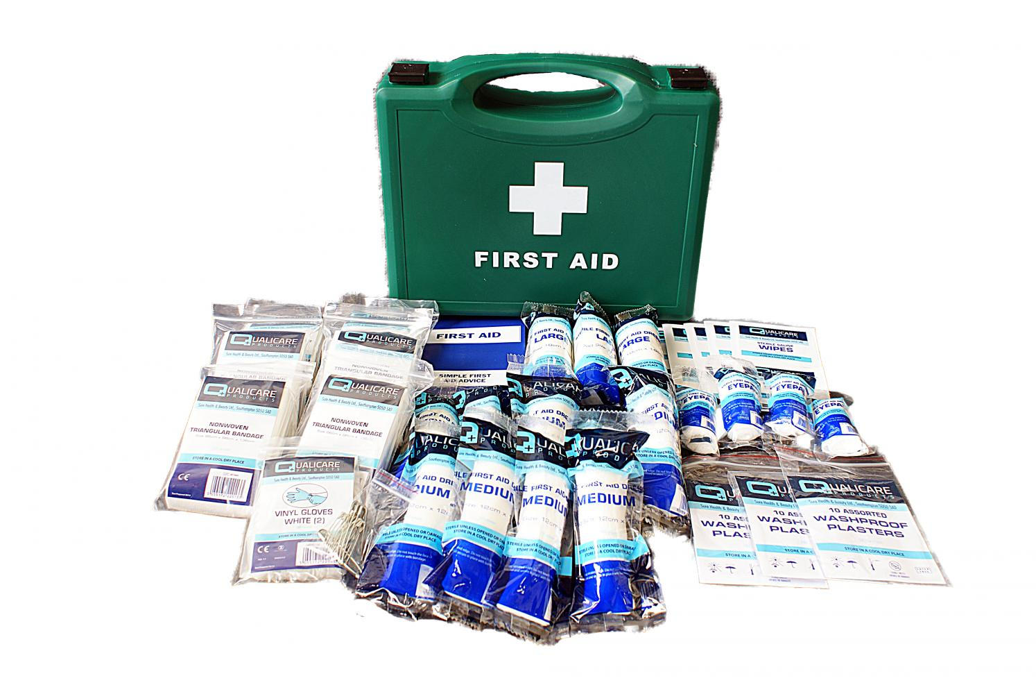 Qualicare First Aid Kit for 1 - 20 People