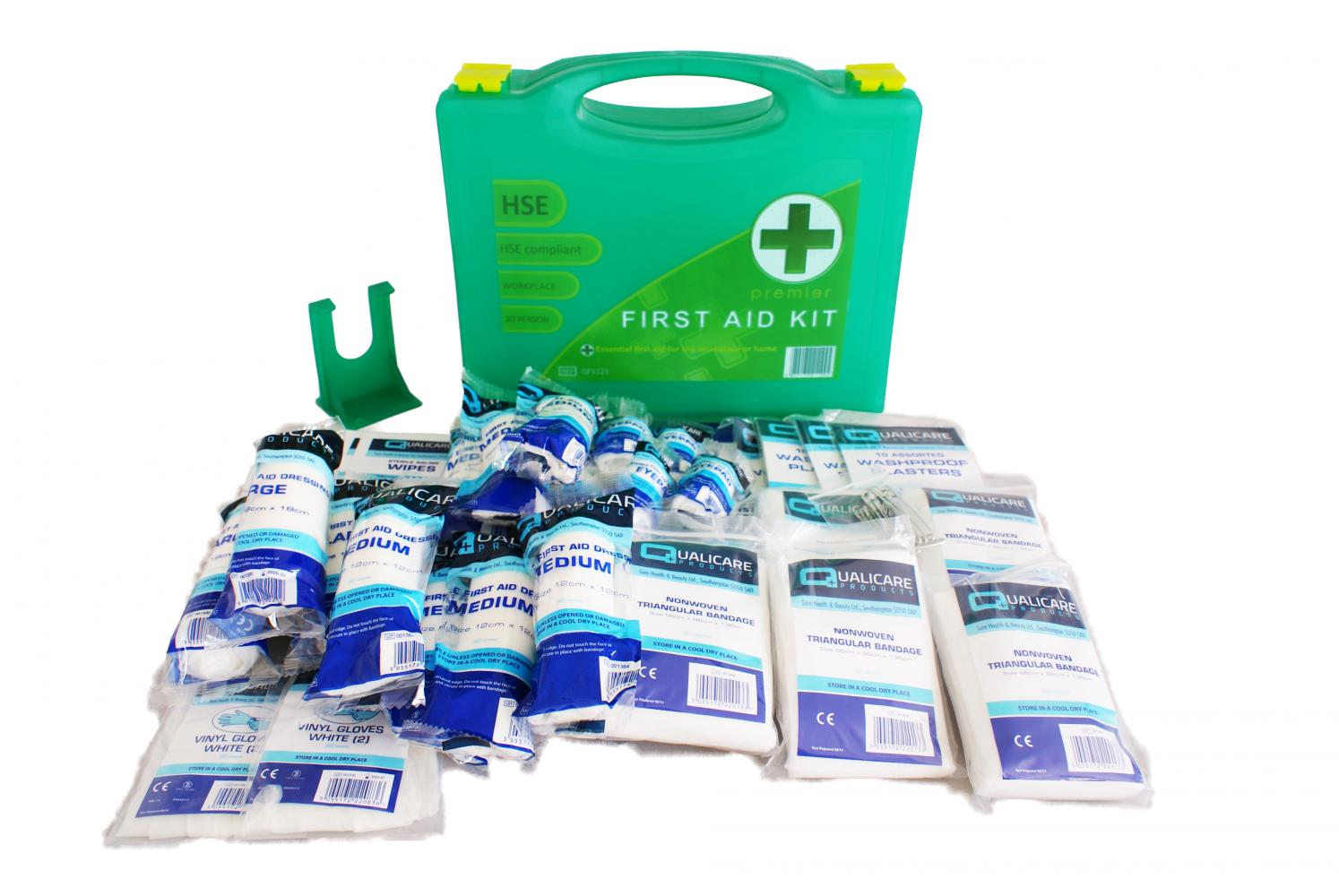 Qualicare Premium First Aid Kit for 1 - 20 People