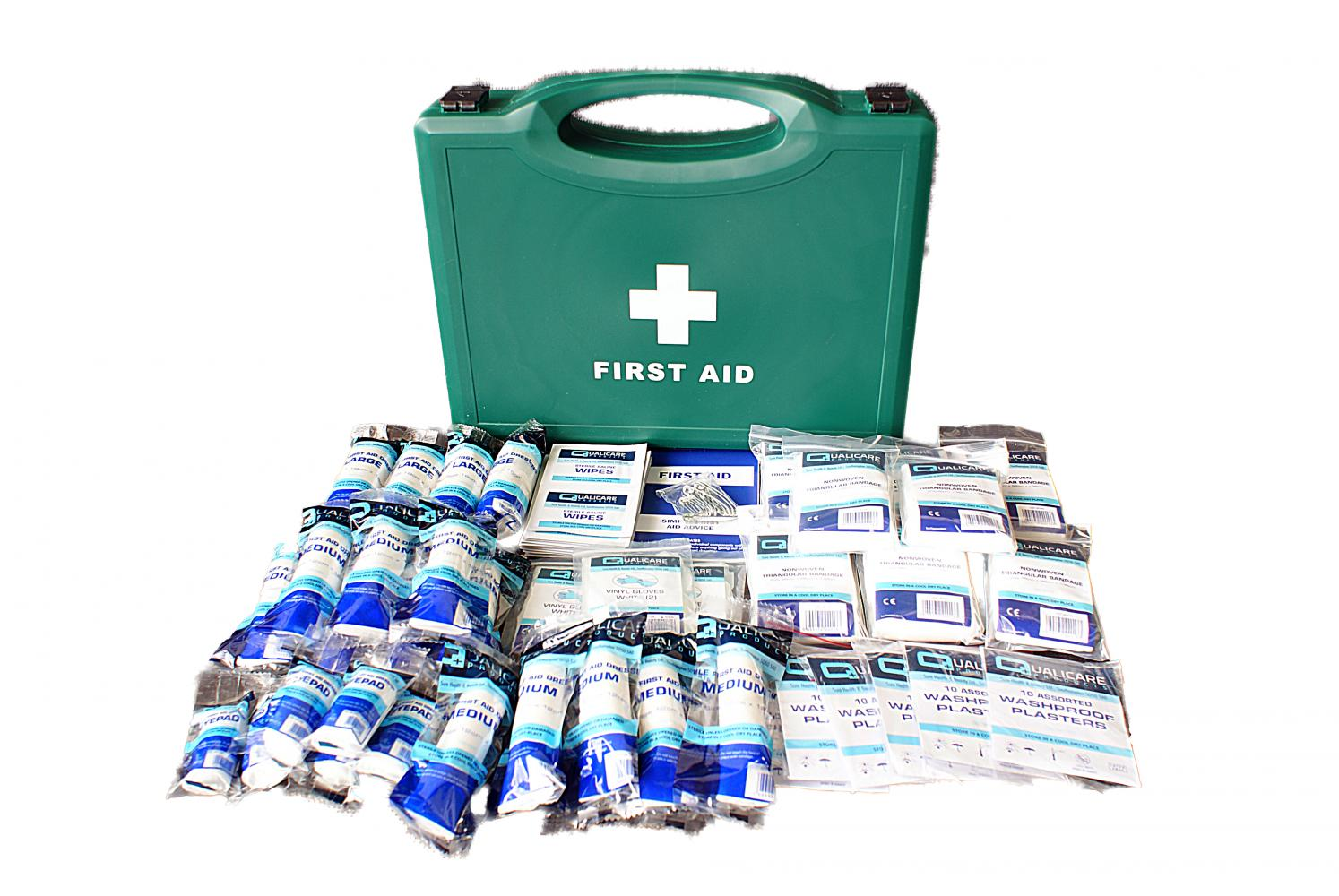 Qualicare First Aid Kit for 1 - 50 People