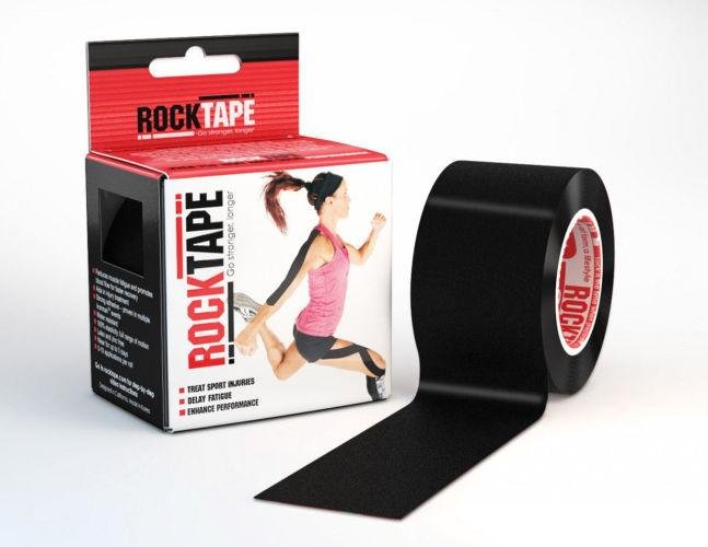 RockTape Black 5cm x 5m Kinesiology Tape