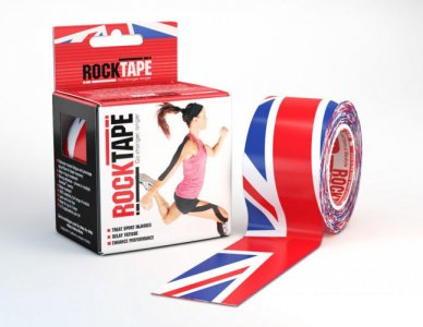 RockTape Union Jack 5cm x 5m Kinesiology Tape