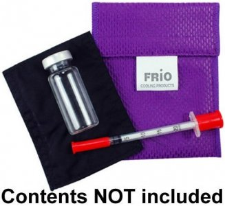 Frio Cooling Wallet Small Purple